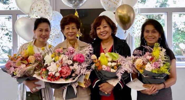Mrs. Judy Leung (L1), Mrs Wendy Kwok (R2), Mrs Agnes Lee (R1)